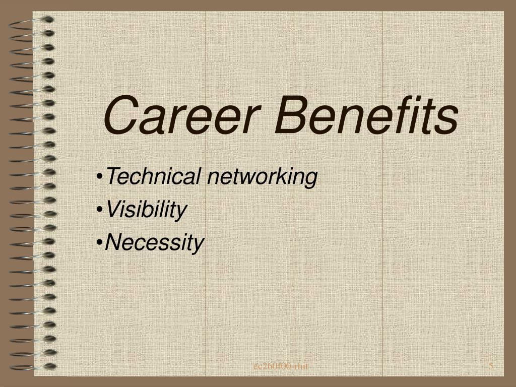 Career Benefits