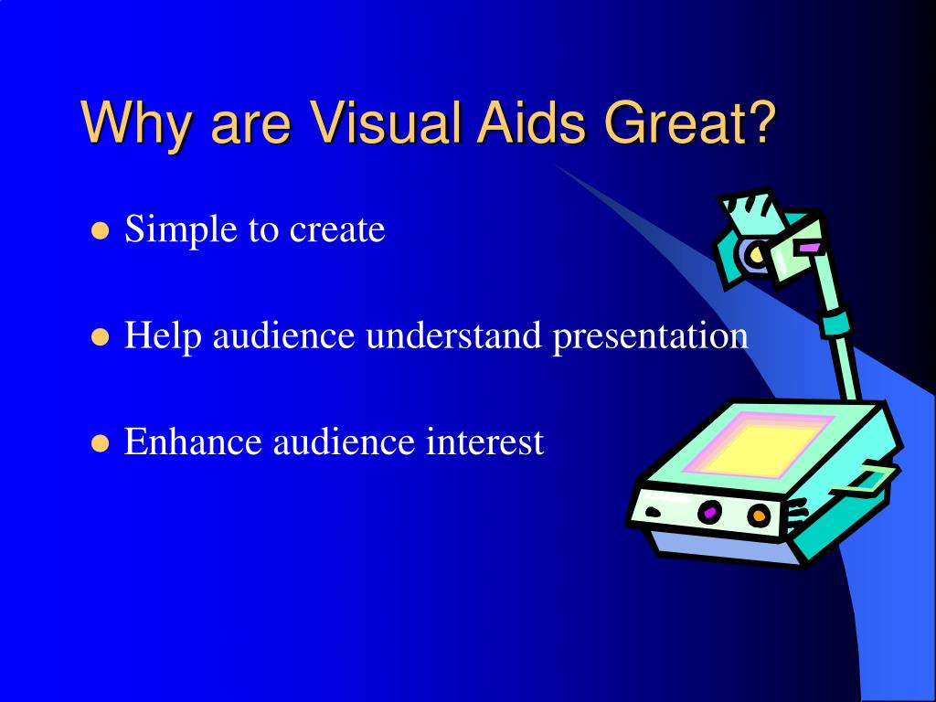 Why are Visual Aids Great?