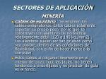 sectores de aplicaci n54