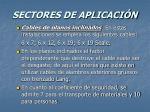 sectores de aplicaci n56