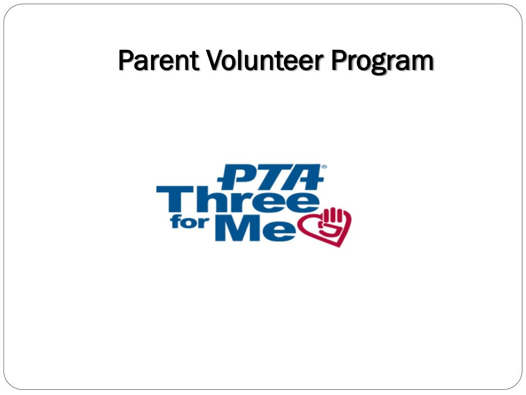 Parent Volunteer Program