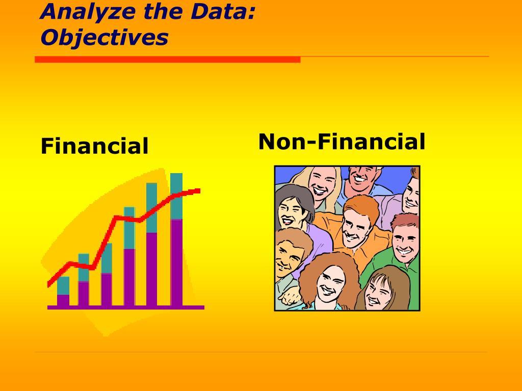 Analyze the Data: