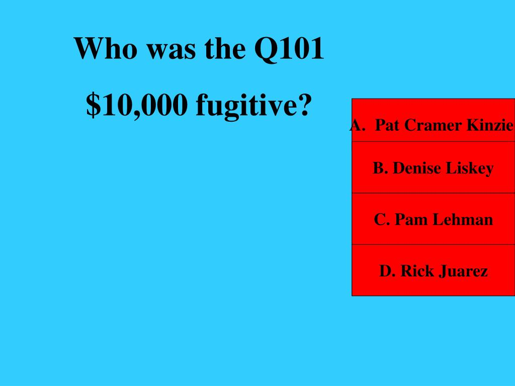Who was the Q101