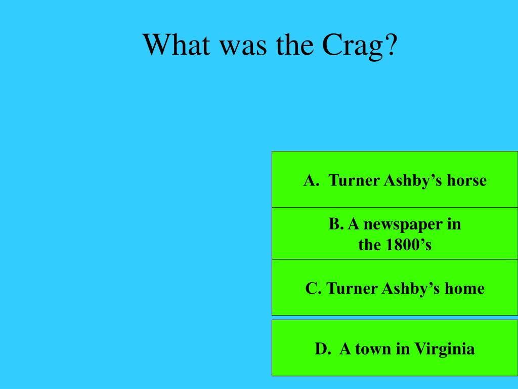 What was the Crag?