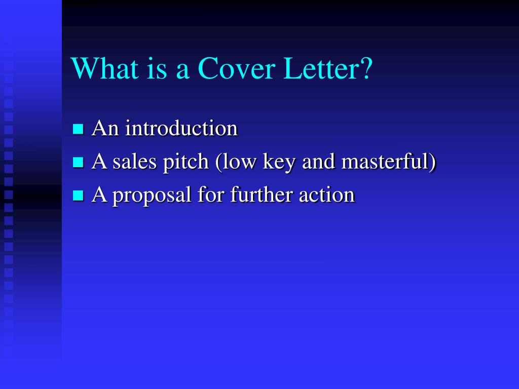 What is a Cover Letter?