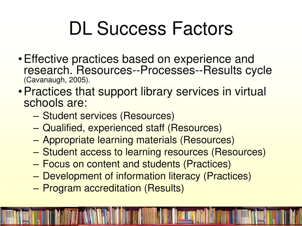 DL Success Factors