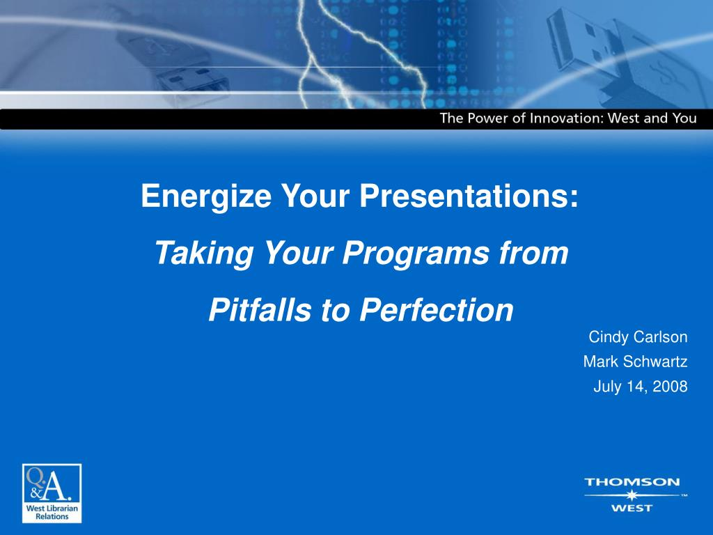 Energize Your Presentations: