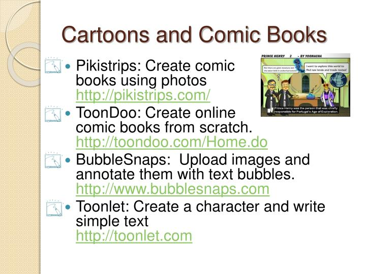 Cartoons and Comic Books