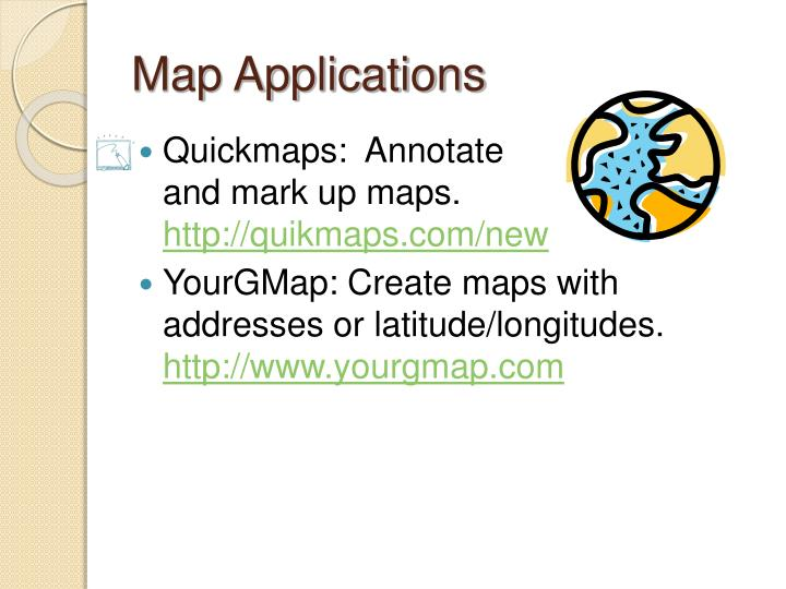 Map Applications