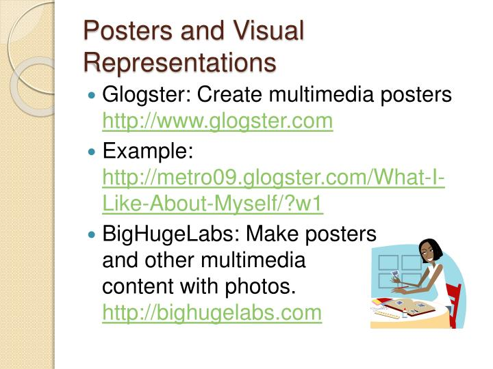 Posters and Visual Representations