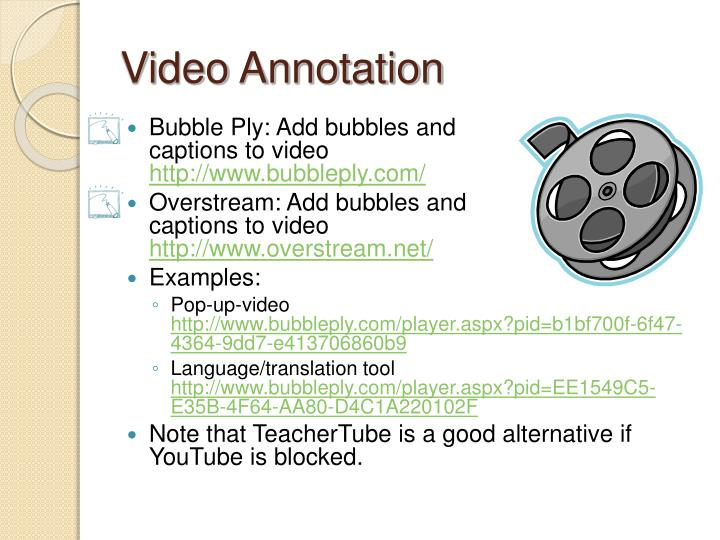 Video Annotation