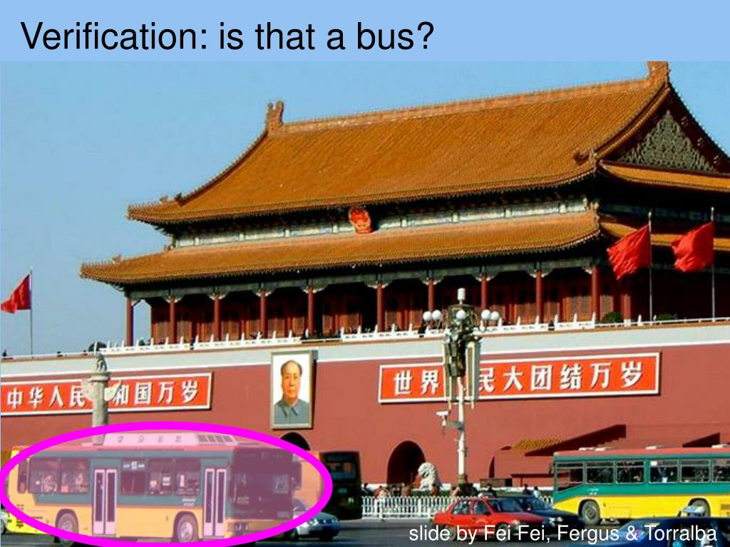 Verification: is that a bus?