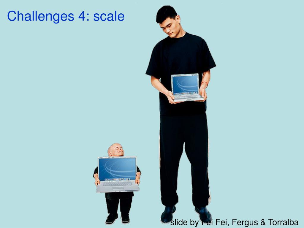 Challenges 4: scale