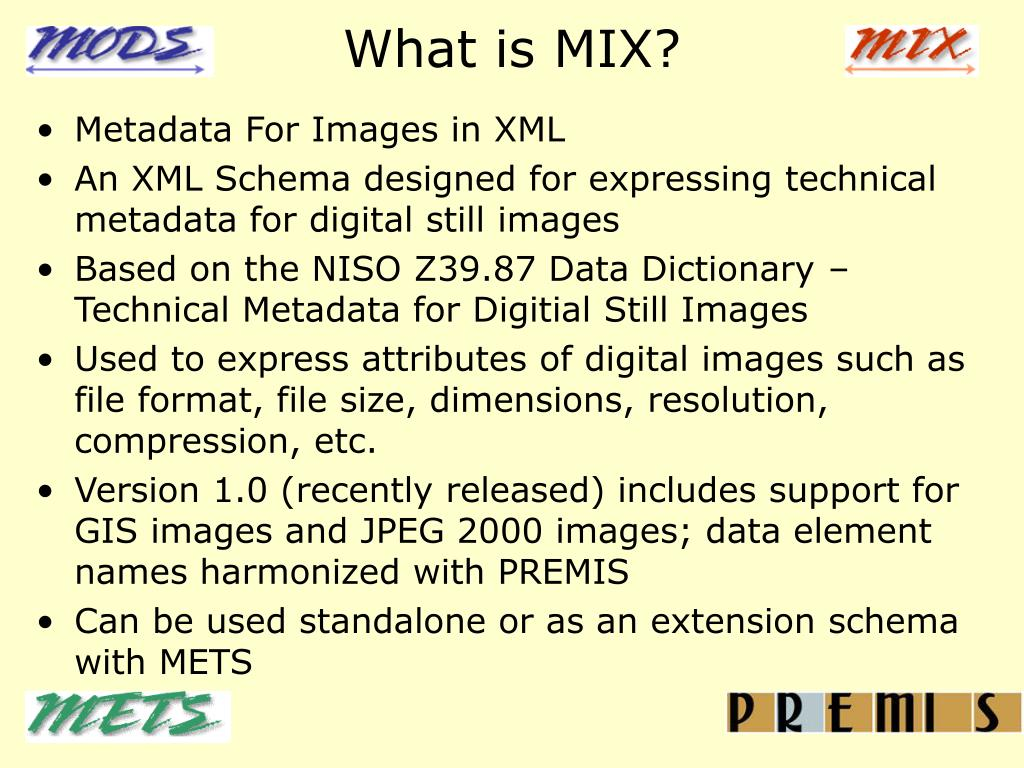What is MIX?