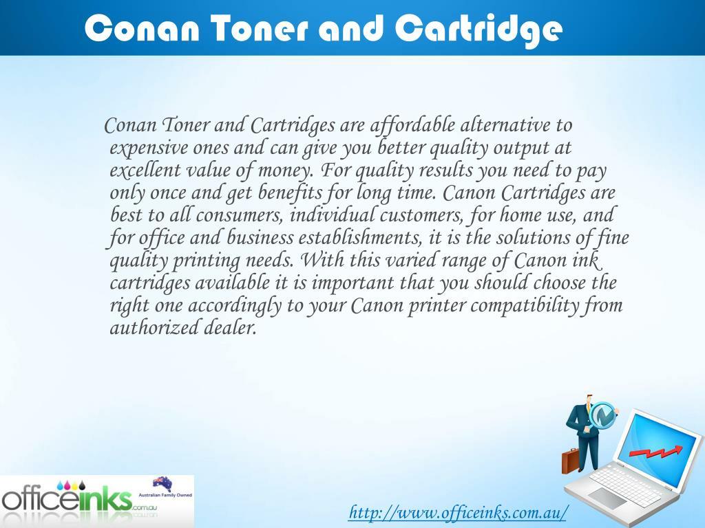 Conan Toner and Cartridge