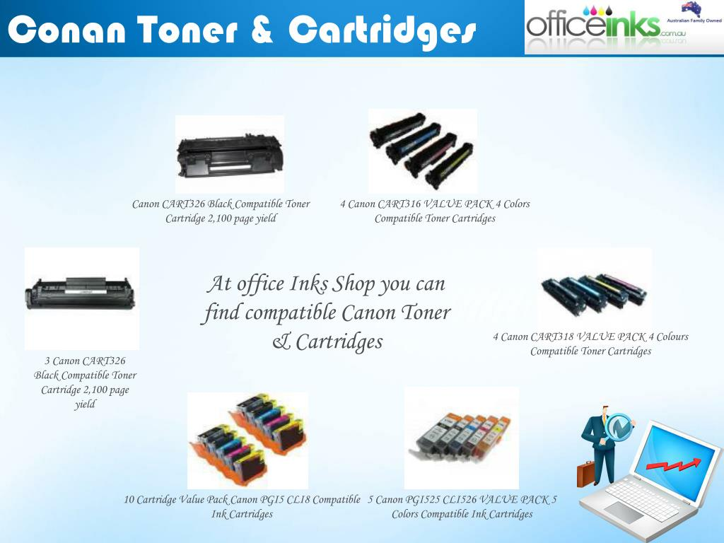 Conan Toner & Cartridges