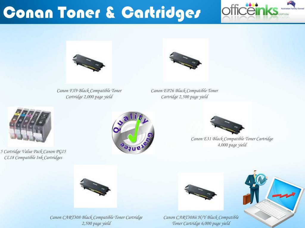 Conan Toner & Cartridges