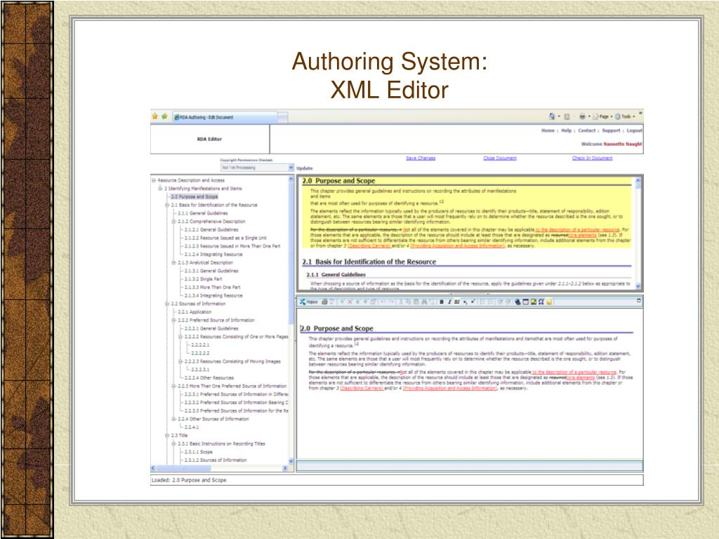 Authoring System: