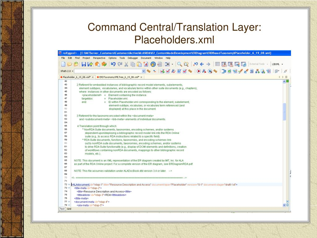 Command Central/Translation Layer: