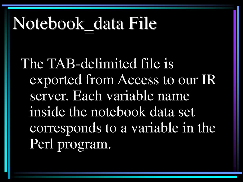 Notebook_data File