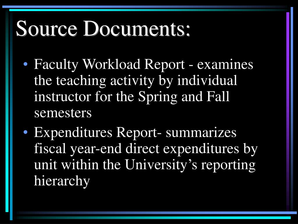 Source Documents: