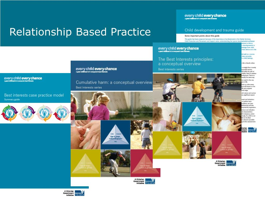 relationship based practice and reflective
