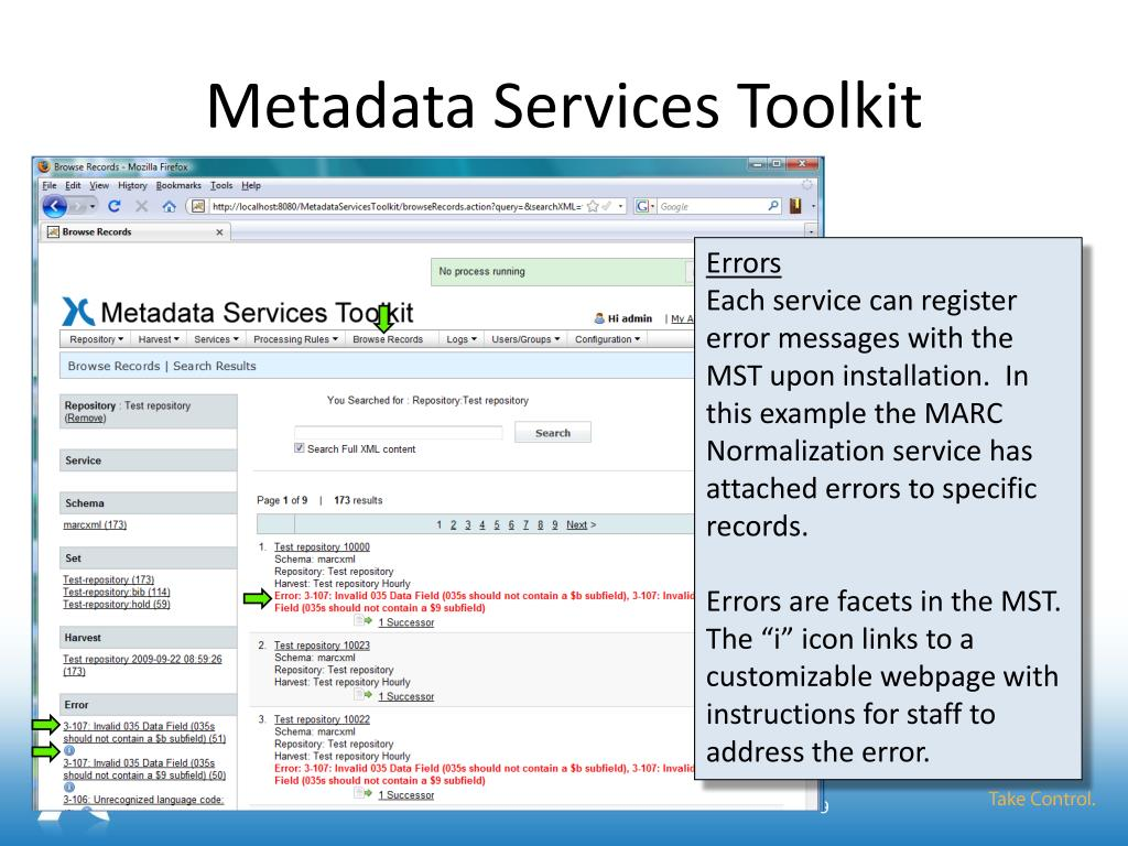 Metadata Services Toolkit
