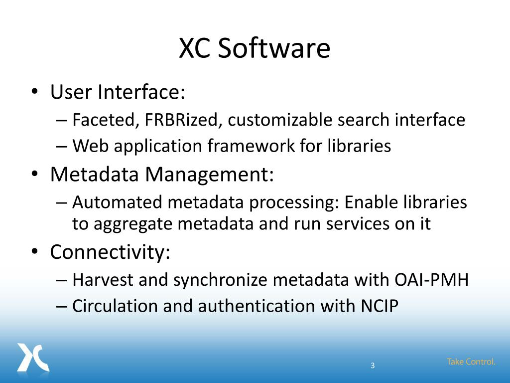 XC Software