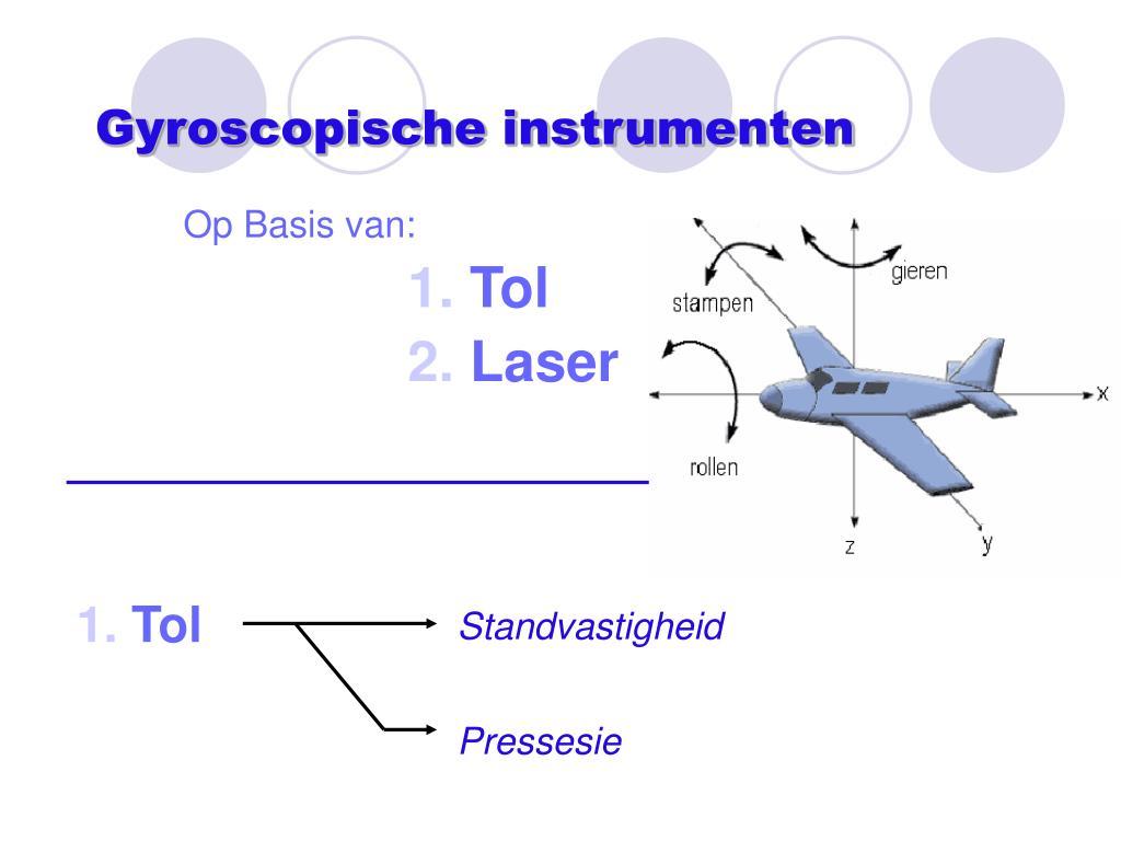 Gyroscopische instrumenten