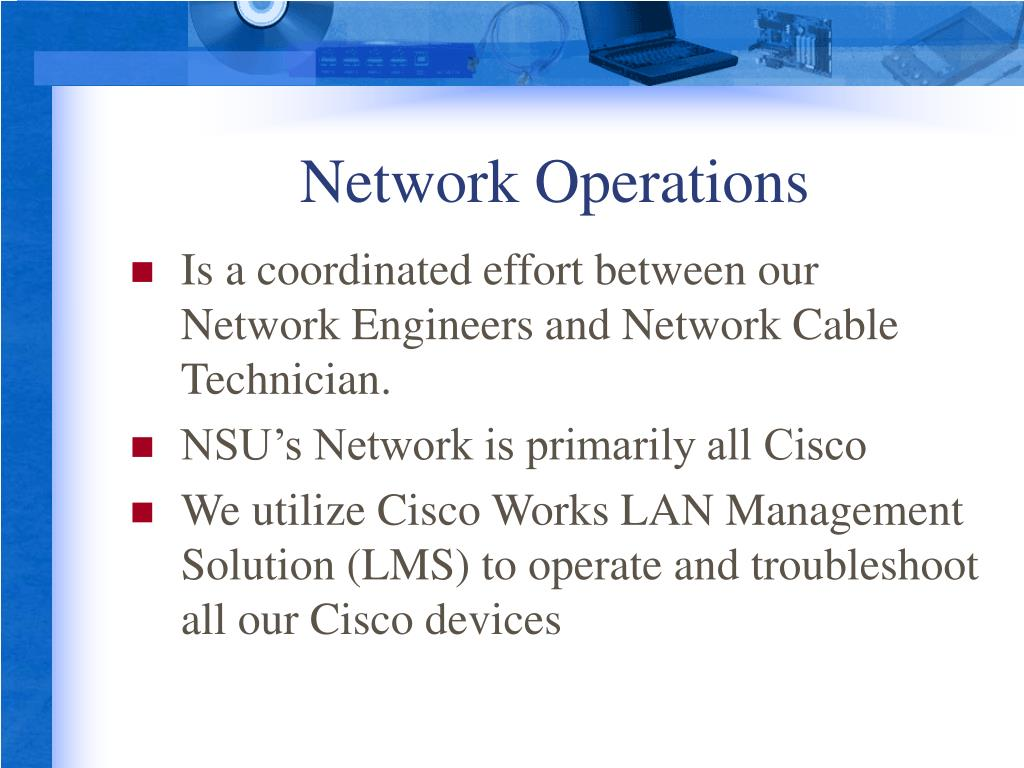 Network Operations