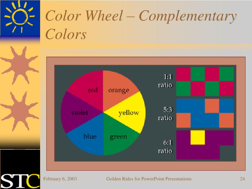 Color Wheel – Complementary Colors