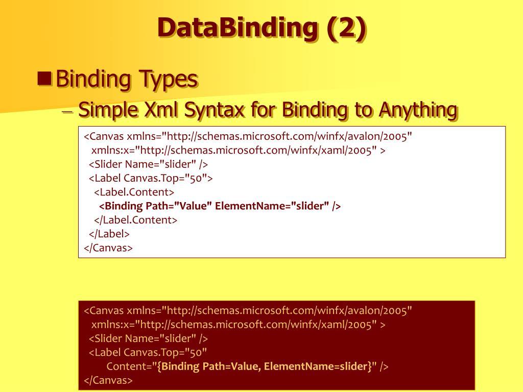 DataBinding (2)