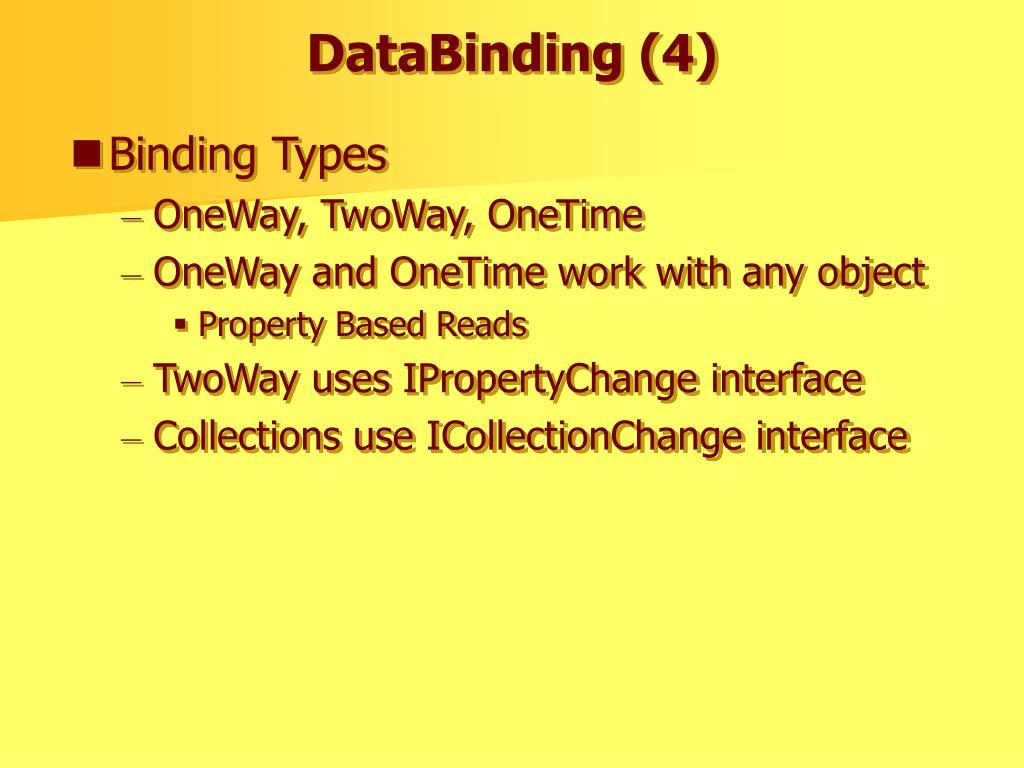 DataBinding (4)