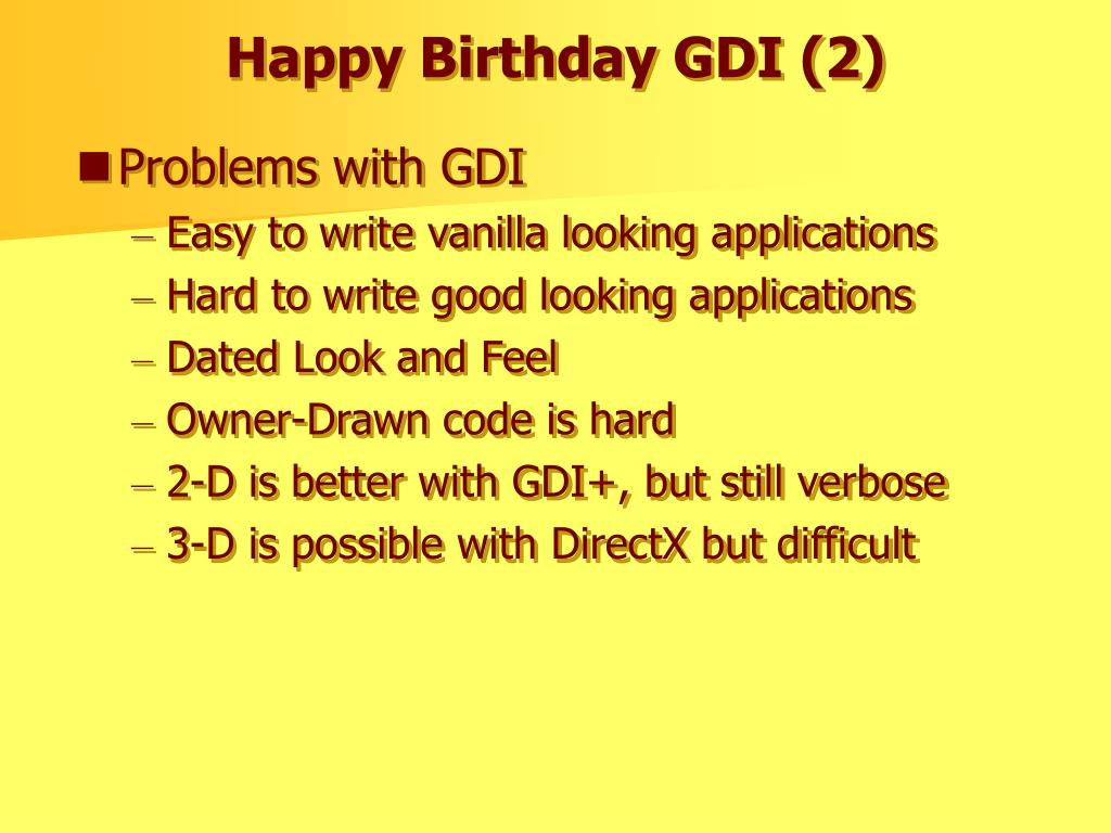 Happy Birthday GDI (2)