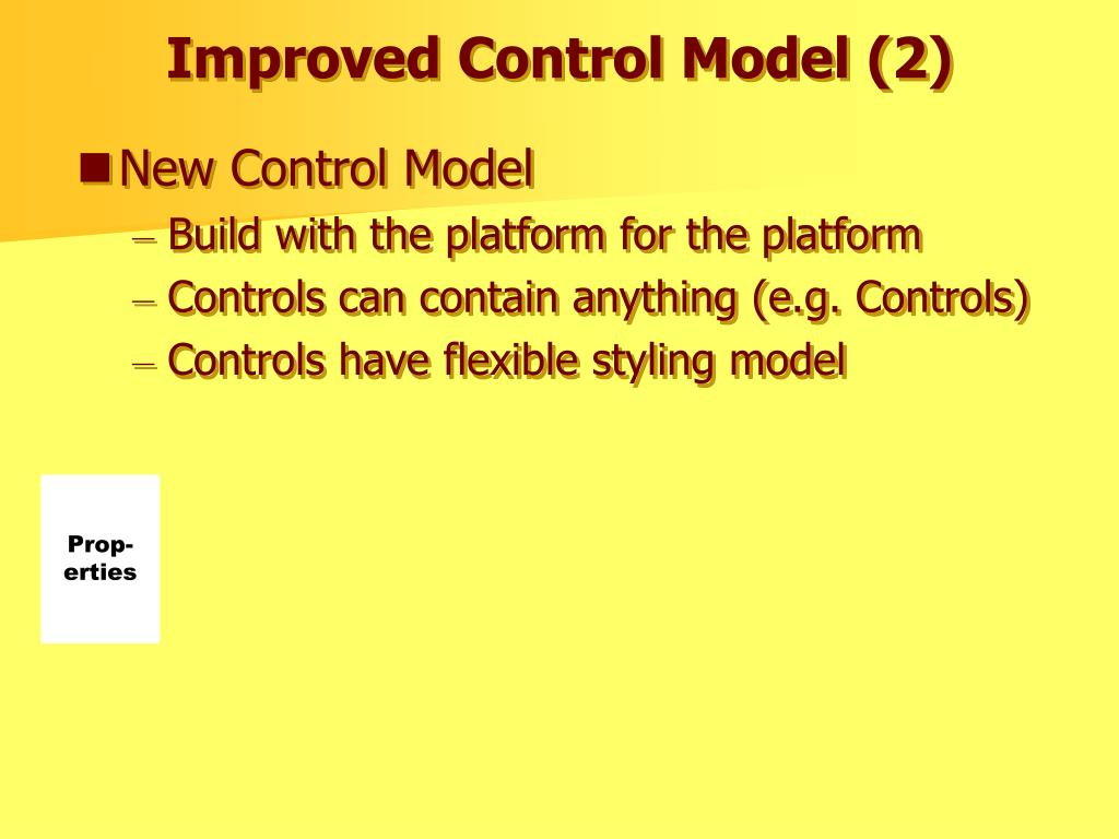 Improved Control Model (2)