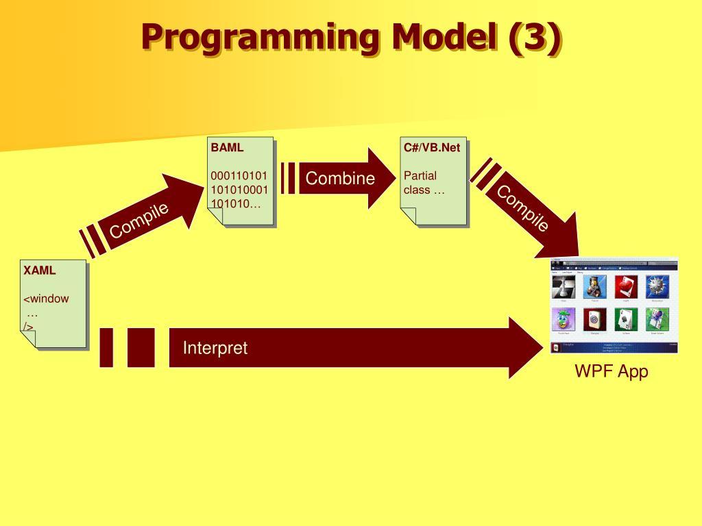 Programming Model (3)