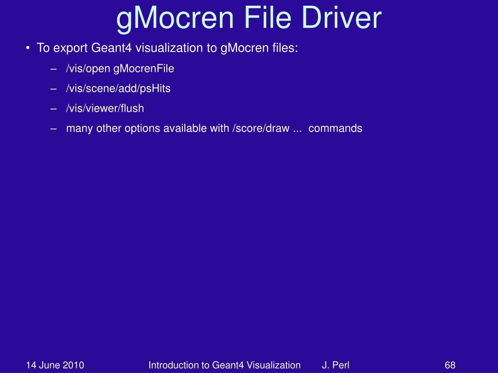gMocren File Driver