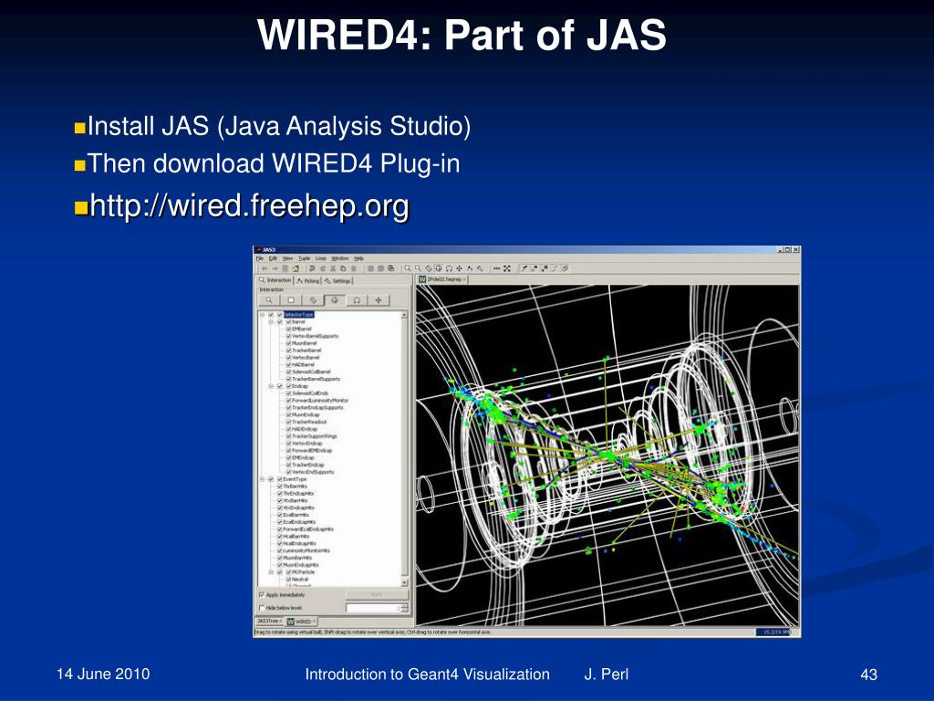 WIRED4: Part of JAS