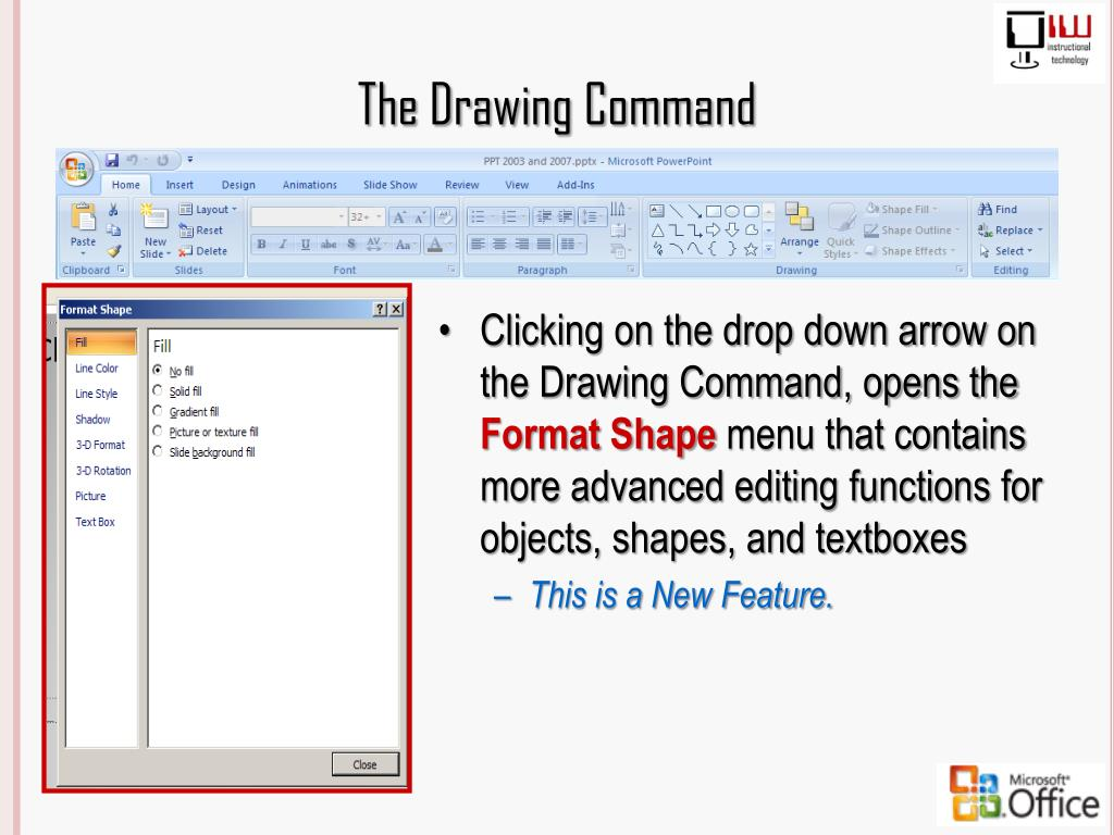 The Drawing Command