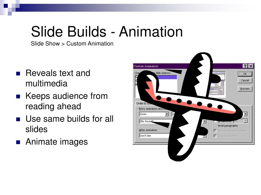 Slide Builds - Animation