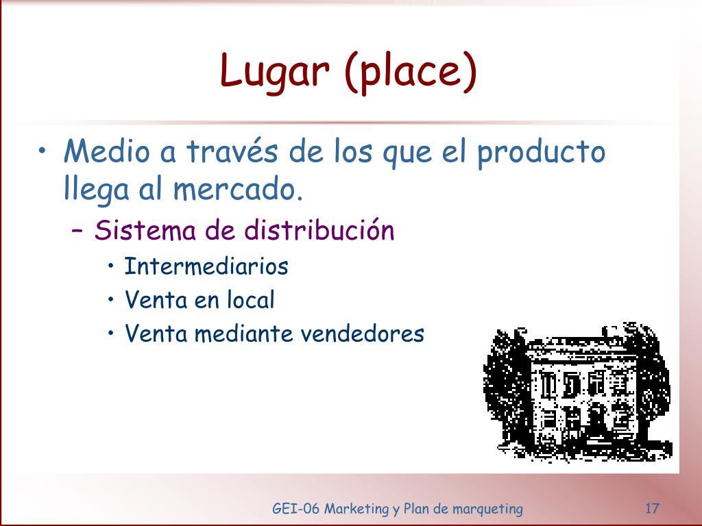 Lugar (place)