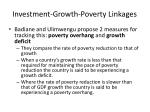 investment growth poverty linkages23