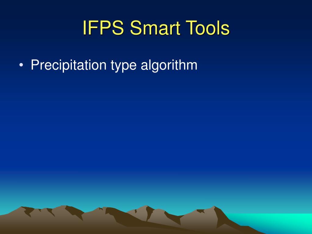 IFPS Smart Tools