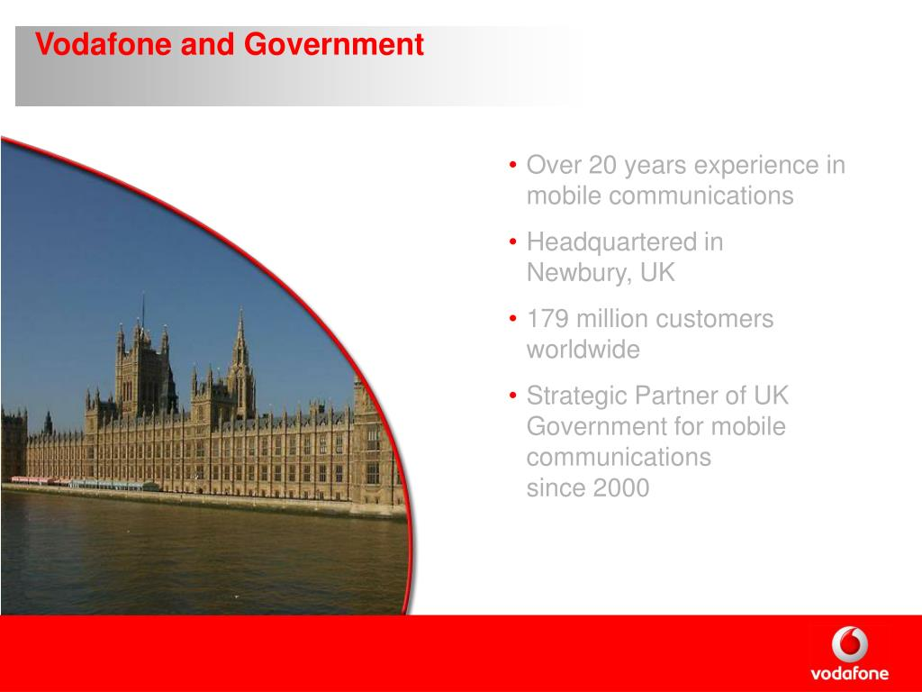 Vodafone and Government