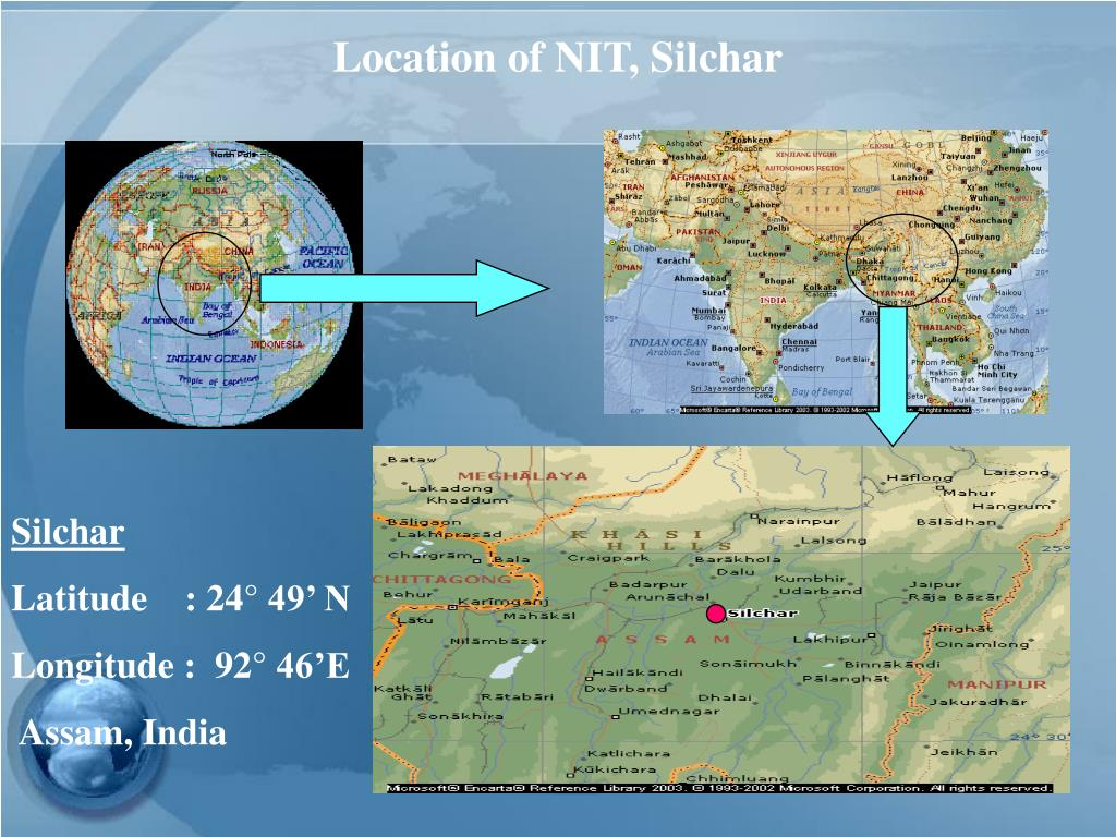 Location of NIT, Silchar