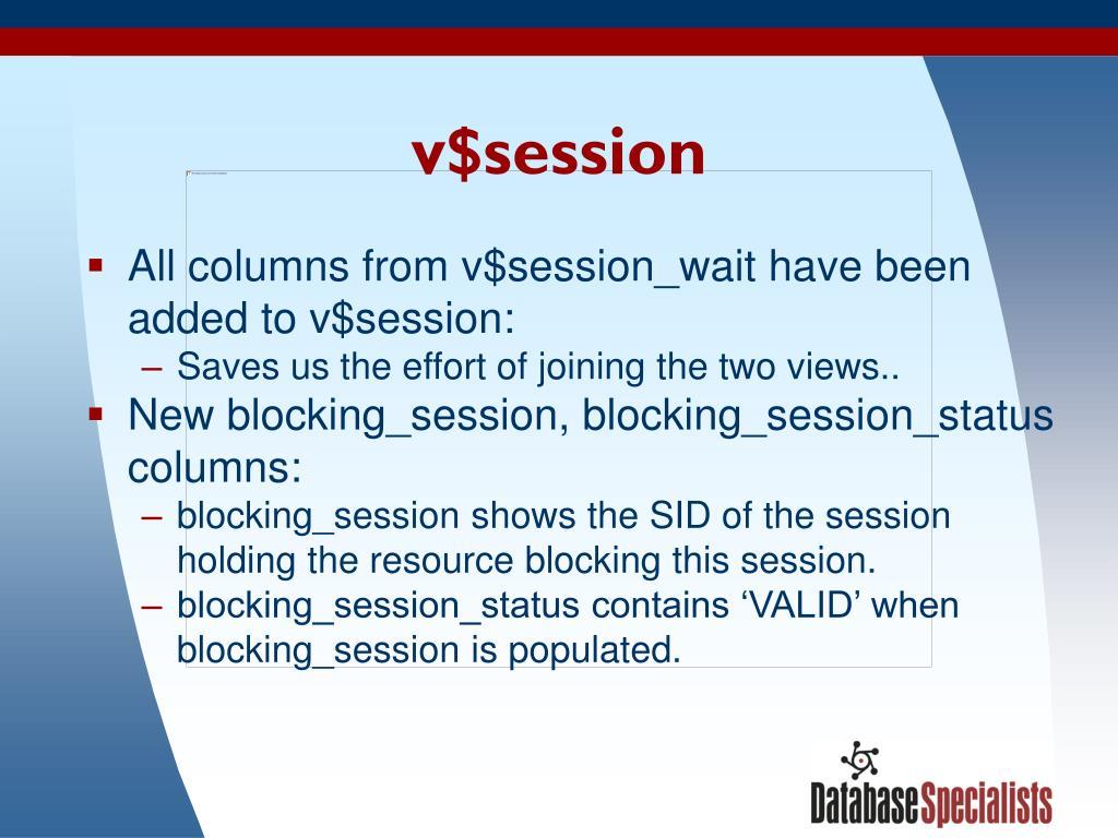 v$session