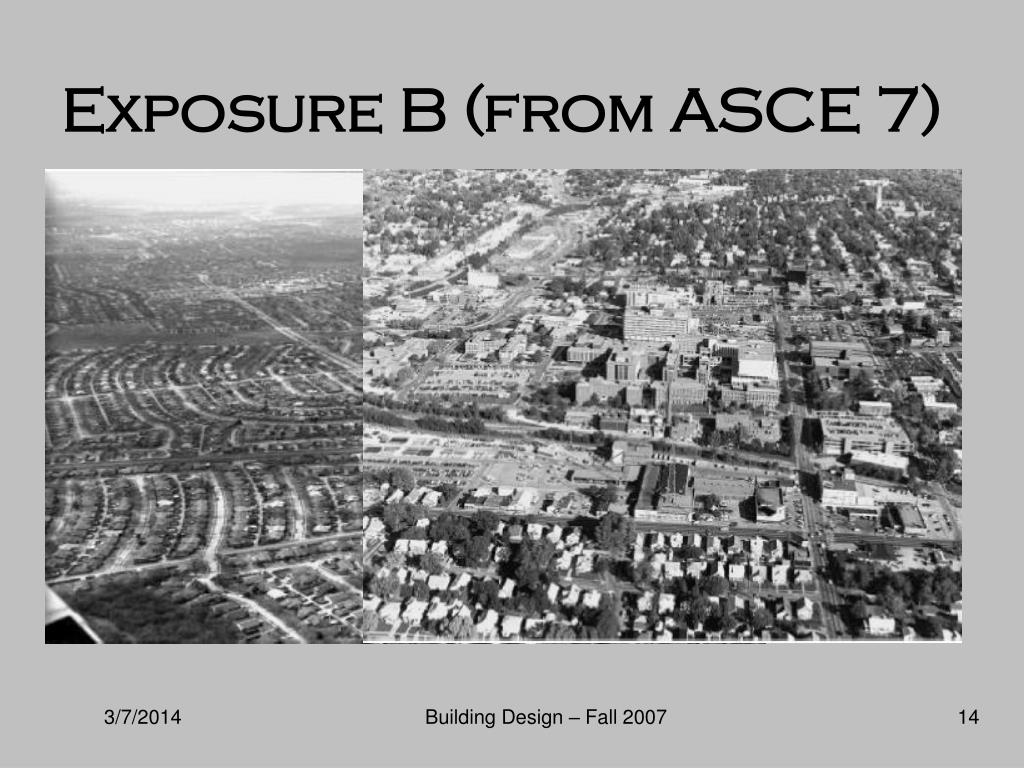 Exposure B (from ASCE 7)