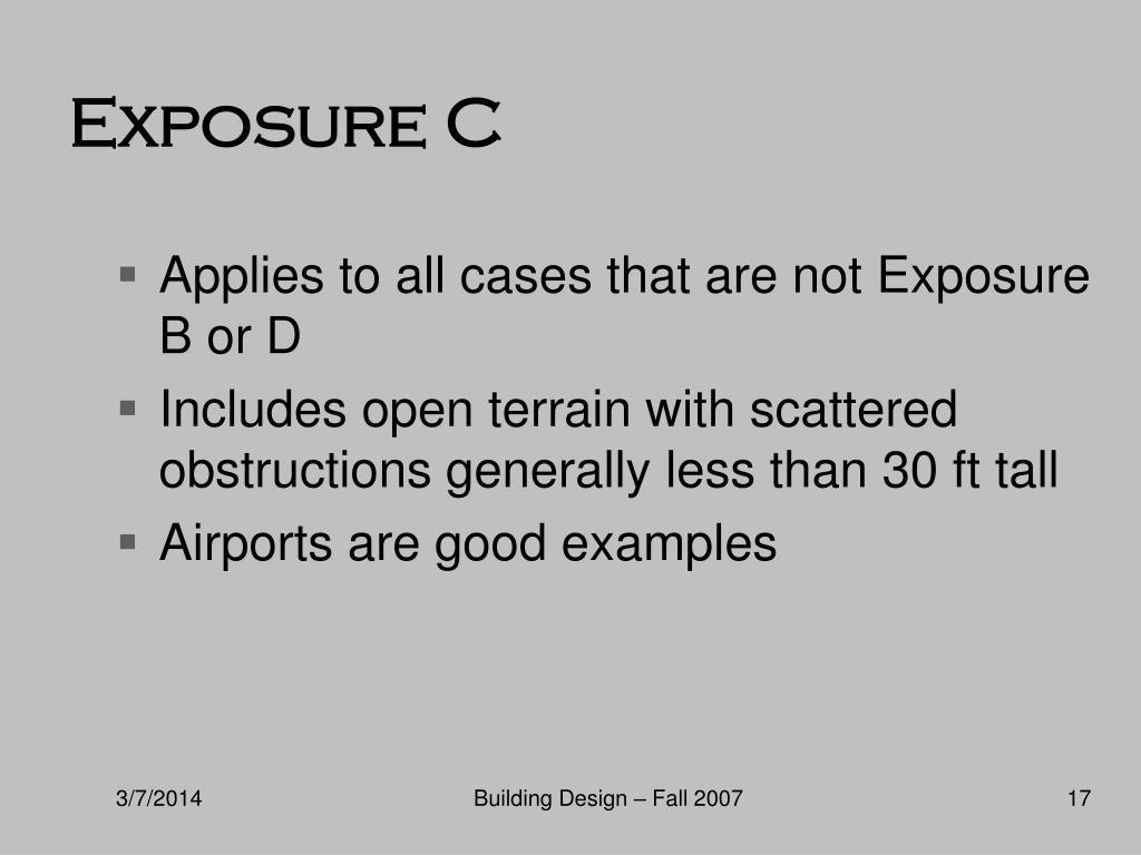 Exposure C