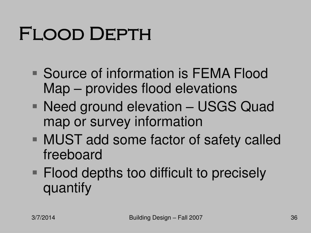 Flood Depth