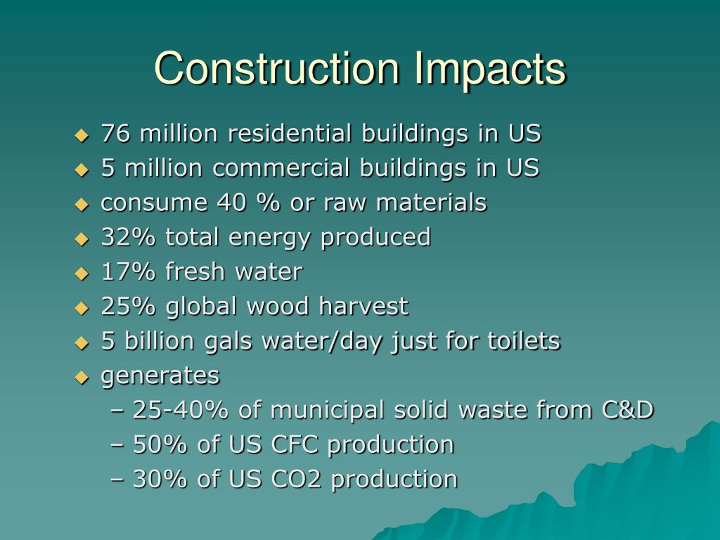 Construction Impacts